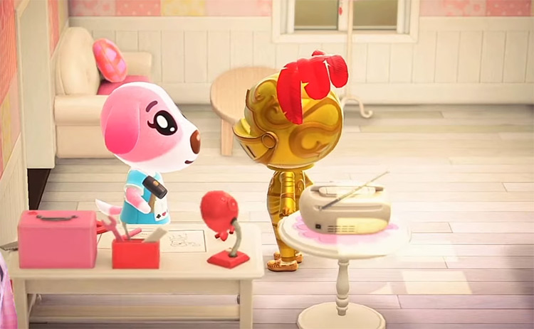 Cookie in Animal Crossing ACNH