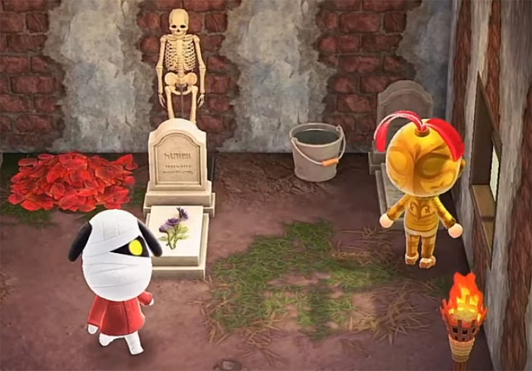 Lucky in Animal Crossing ACNH