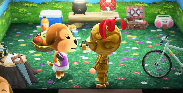 Maddie in Animal Crossing New Horizons