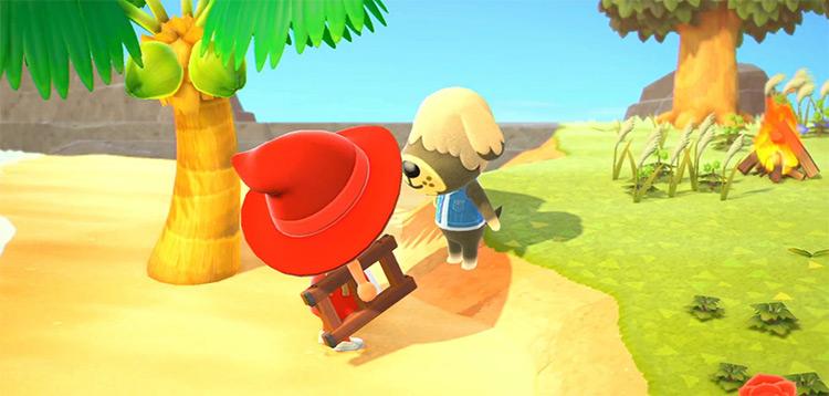 Shep in Animal Crossing New Horizons