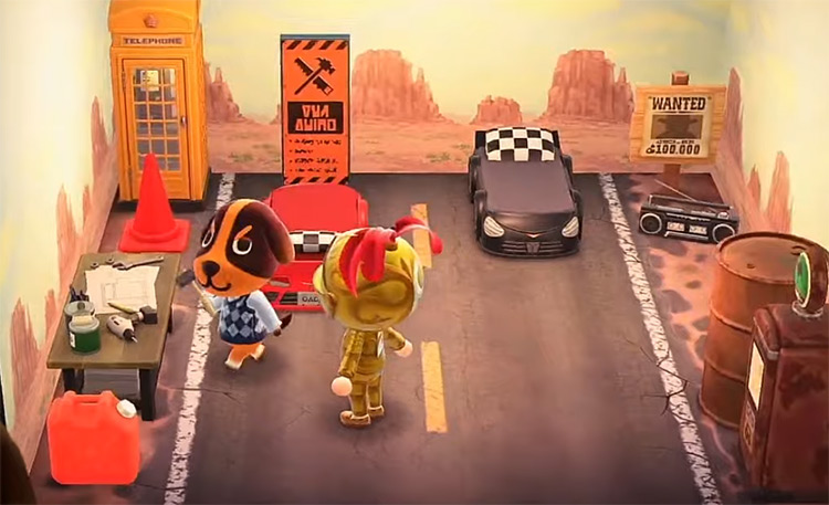 Butch in Animal Crossing ACNH