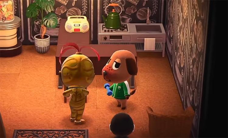 Bea in Animal Crossing New Horizons