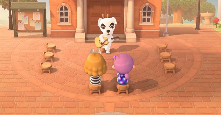 K.K. Slider in Animal Crossing ACNH