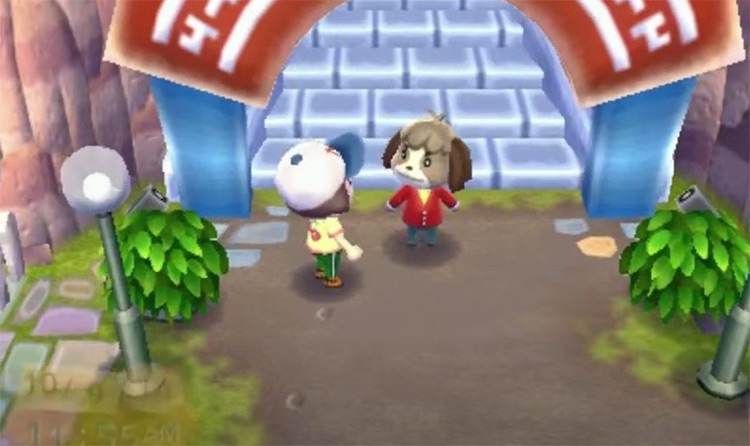 Digby in Animal Crossing New Horizons