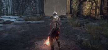 Lighting a Bonfire in Dark Souls 3