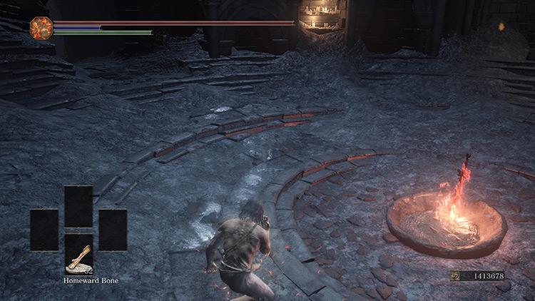 Homeward Bone from Dark Souls 3