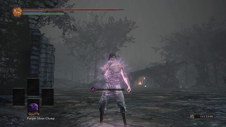 Purple Moss Clump from Dark Souls 3
