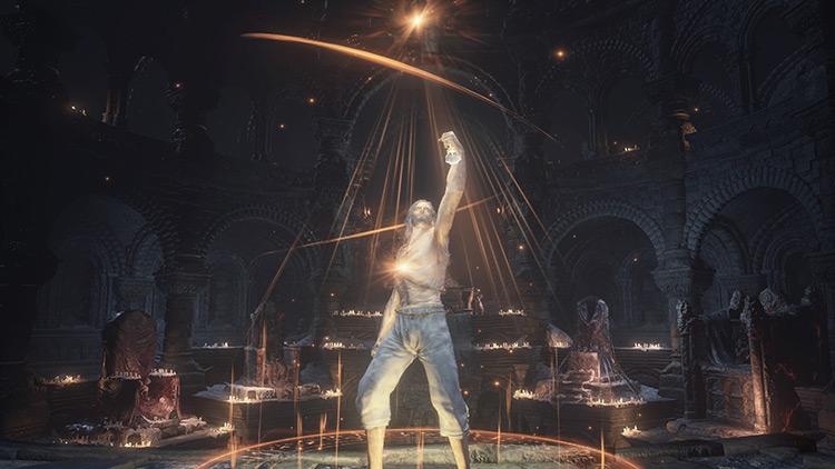 Sacred Oath from Dark Souls 3