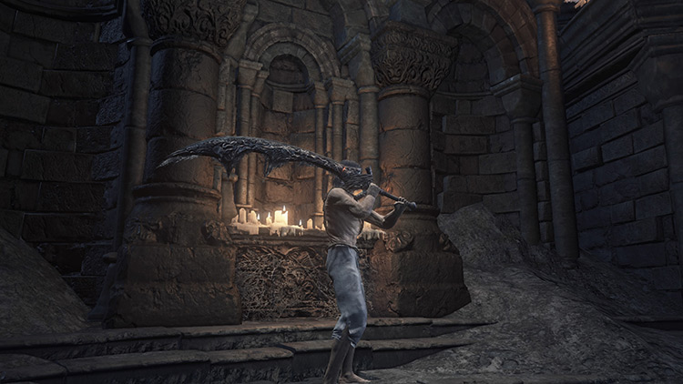 Old Wolf Curved Sword Dark Souls 3