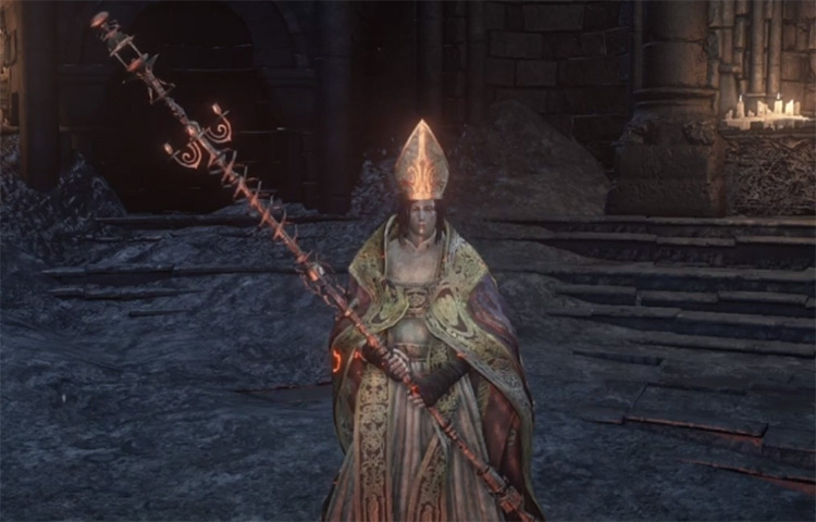 Archdeacon's Great Staff in DS3