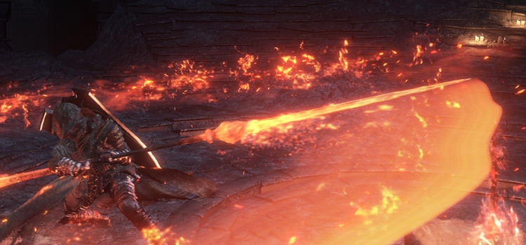 Ringed Knight Spear Screenshot from Dark Souls 3