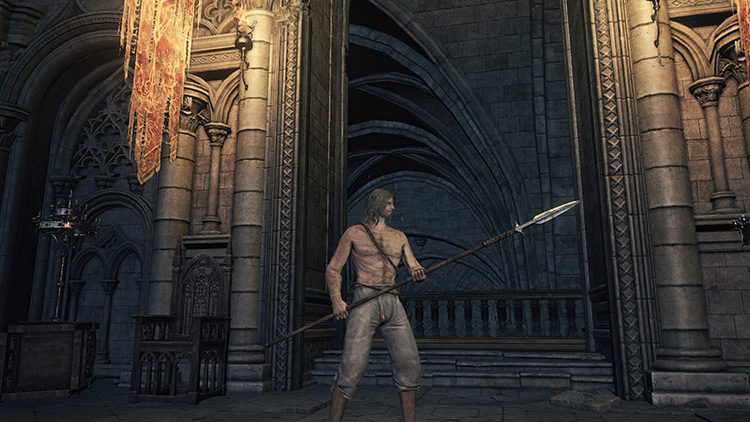 Winged Spear from Dark Souls 3