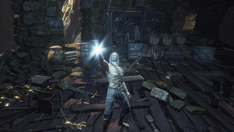 Golden Ritual Spear Dark Souls 3