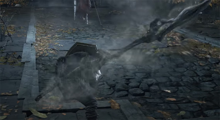 Tailbone Spear from Dark Souls 3
