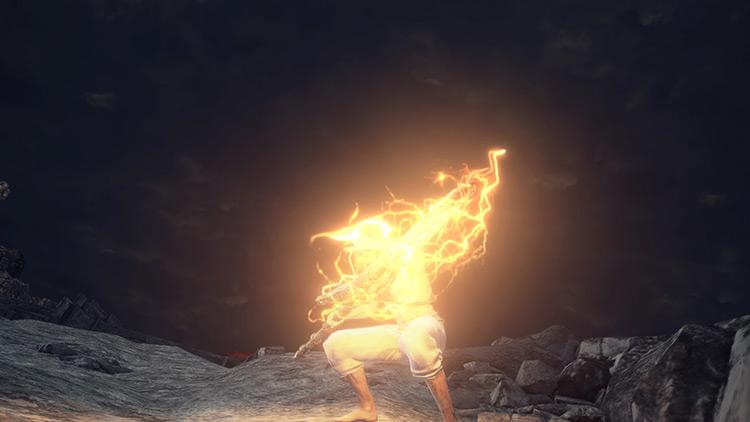 Falling Bolt Dark Souls 3