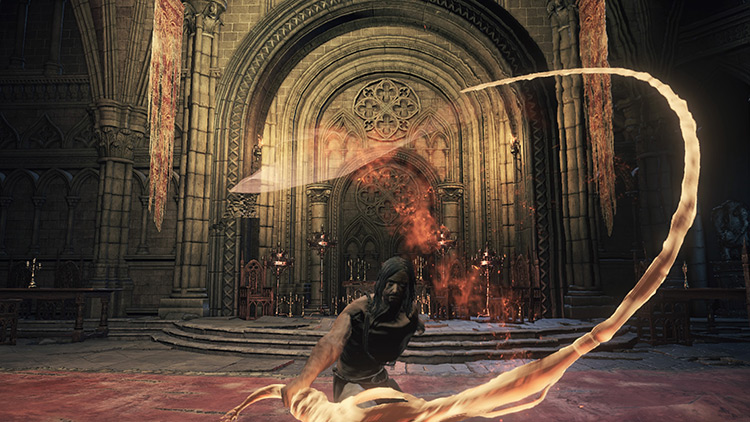 Flame Whip from Dark Souls 3