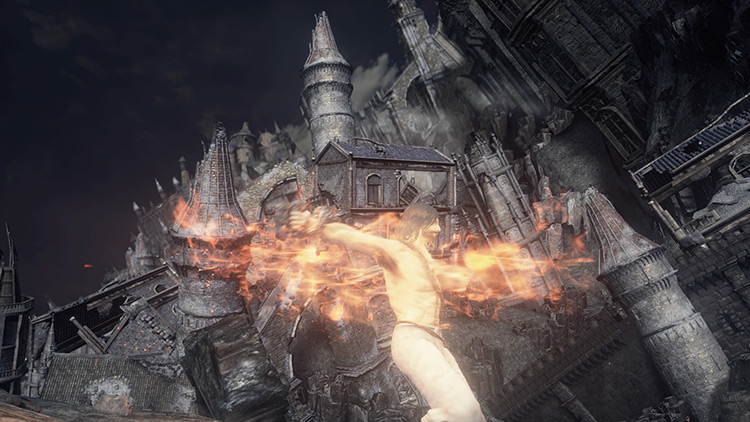Flame Whirlwind in DS3