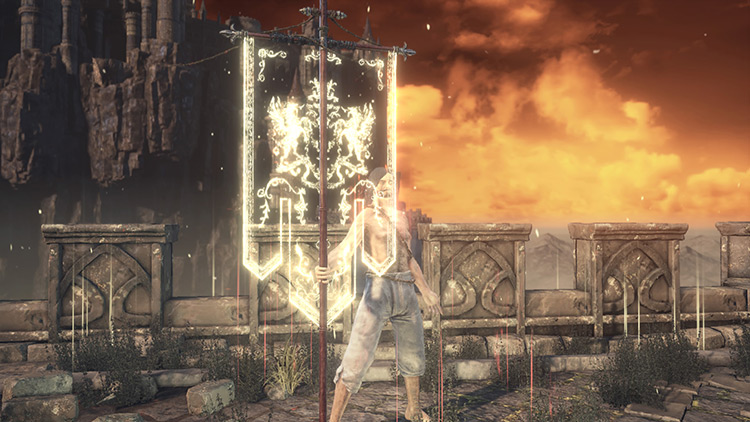 Lothric War Banner Screenshot - Dark Souls 3