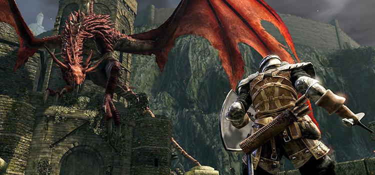 Dark Souls Remastered - HD Dragon Preview Screenshot