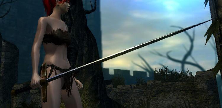 Balder Side Sword from Dark Souls