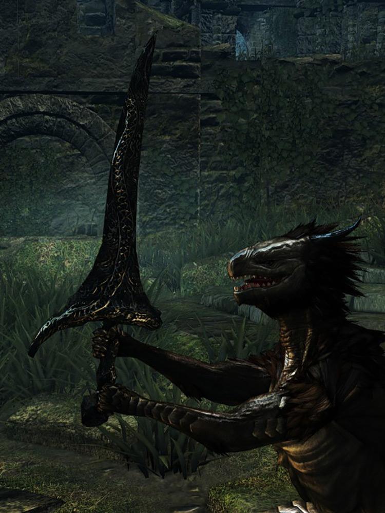 Drake Sword from Dark Souls