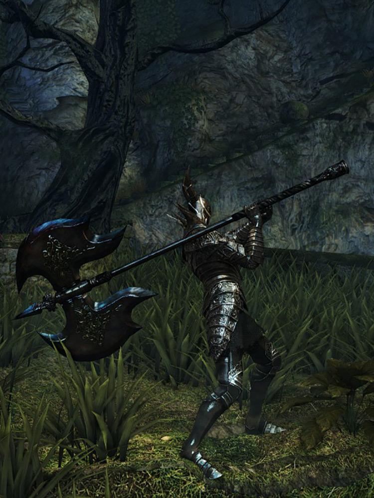 Black Knight Greataxe Dark Souls 1