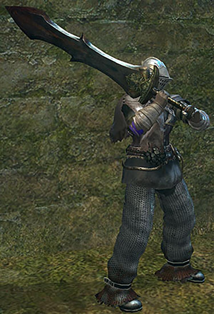 Black Knight Greatsword from Dark Souls