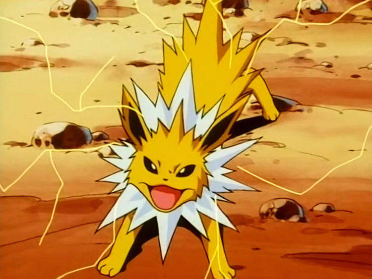 Jolteon from Pokemon anime