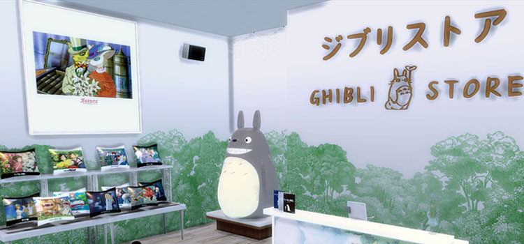 Sims 4 Ghibli CC: From Ponyo To Howl's Moving Castle (And More)