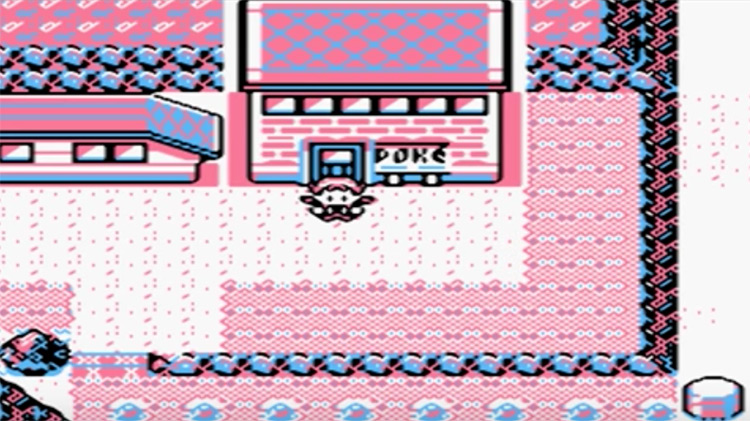 Pokémon Pink GBC rom hack gameplay screenshot