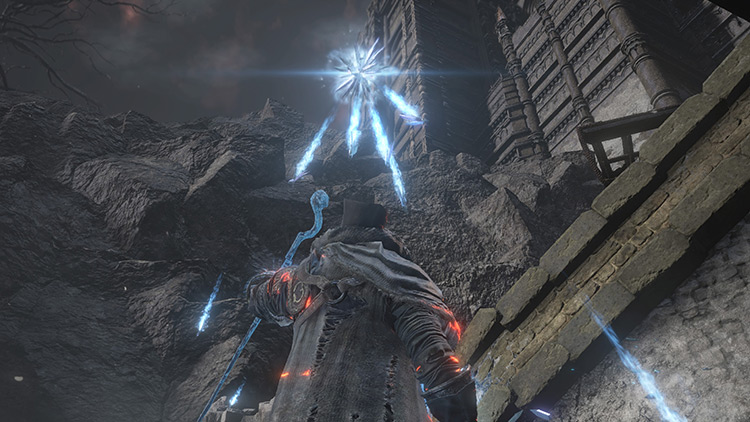 Crystal Hail from Dark Souls 3