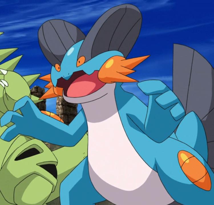 Swampert - Pokemon anime screenshot