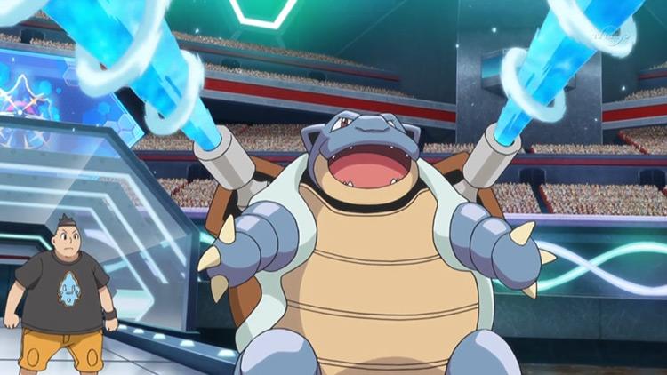 Blastoise from Pokemon anime