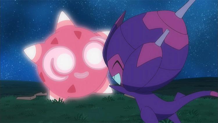 Minior Pokemon anime screenshot