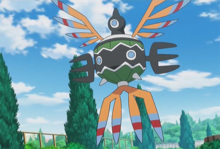Sigilyph Pokemon in the anime