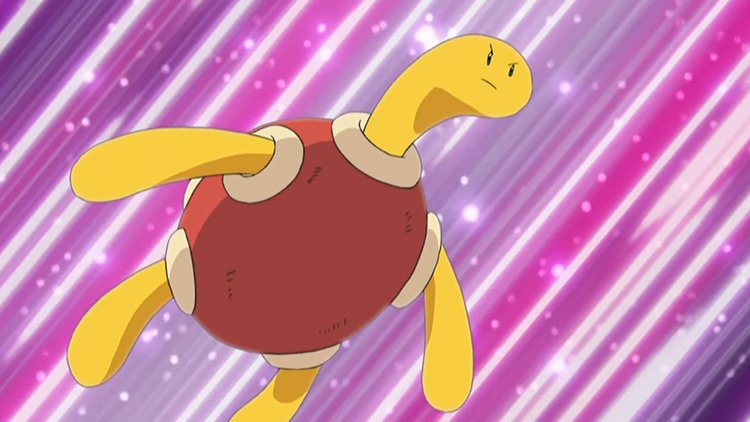 Shuckle from Pokemon anime