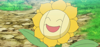Sunflora Screenshot from Pokemon Journeys Anime