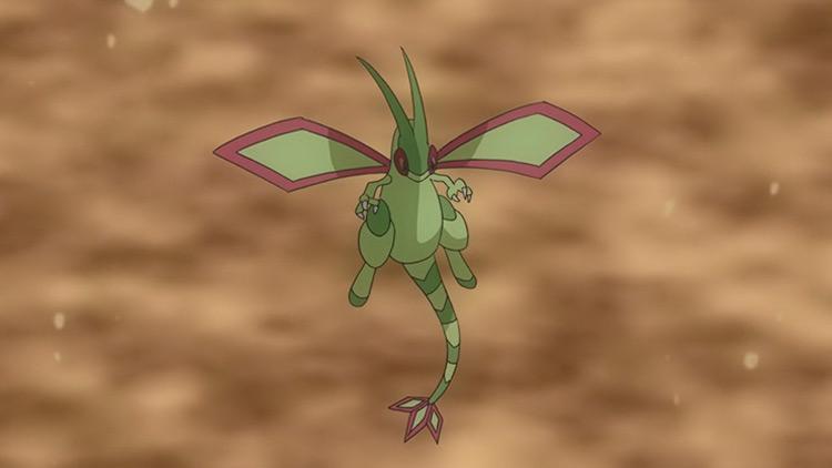 Vibrava/Flygon from Pokemon anime