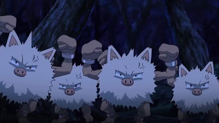 Primeape from Pokemon anime