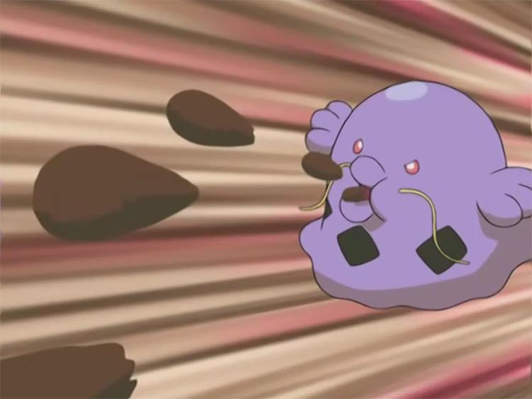 Swalot from Pokemon anime