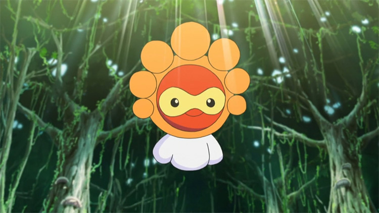 Castform from Pokemon anime