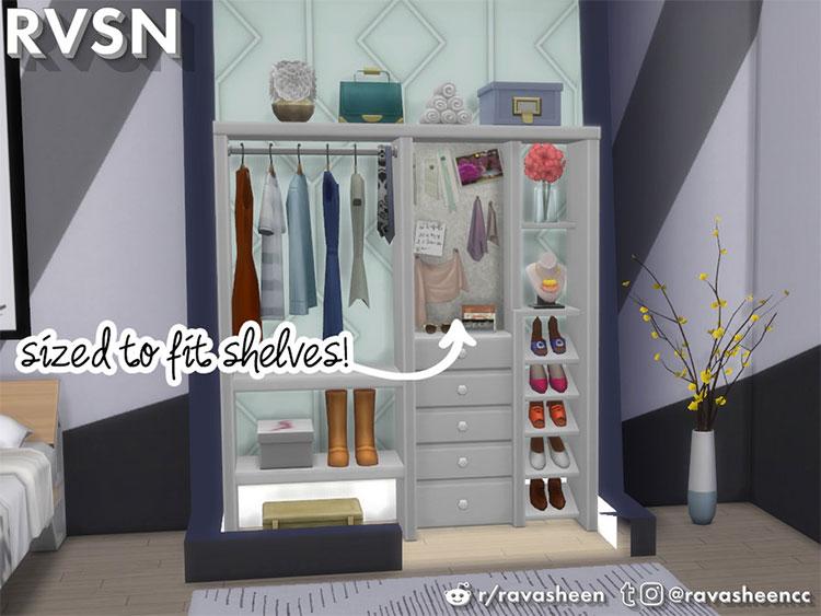 Hang Around Closet CC Set - TS4