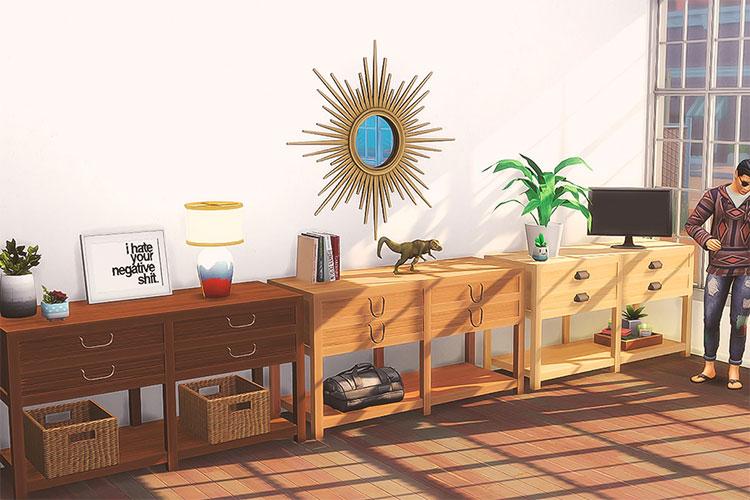 Takapuna Dresser CC - The Sims 4