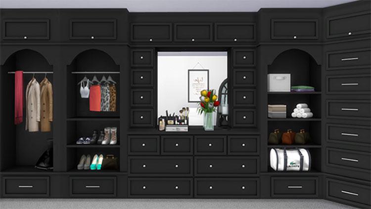 Built-In Closet CC - Sims 4