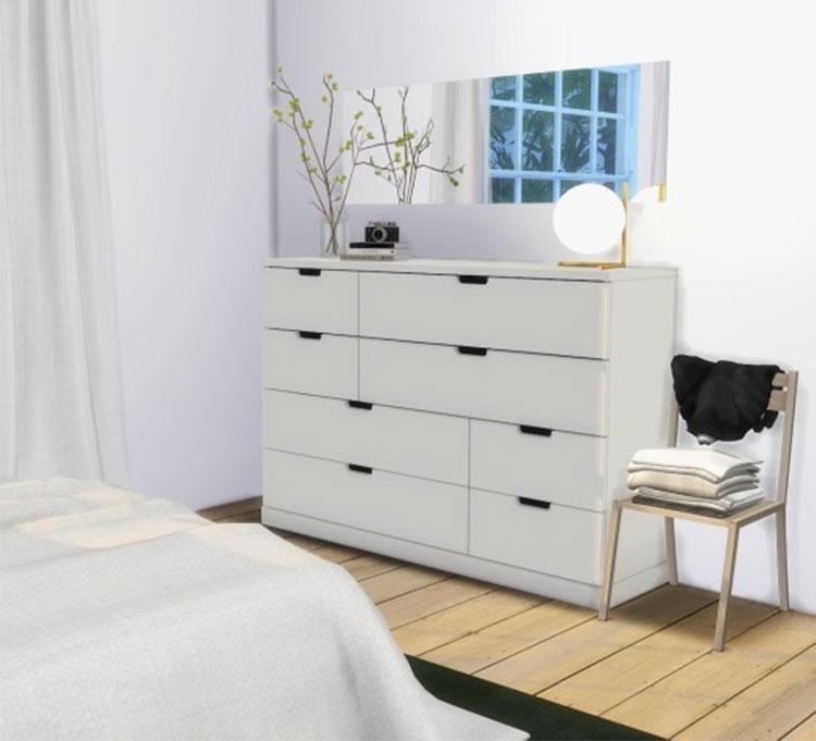 IKEA Nordli Dresser CC - Sims 4