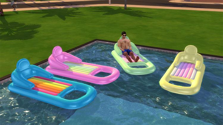 Pool Lounge Float CC Set - TS4
