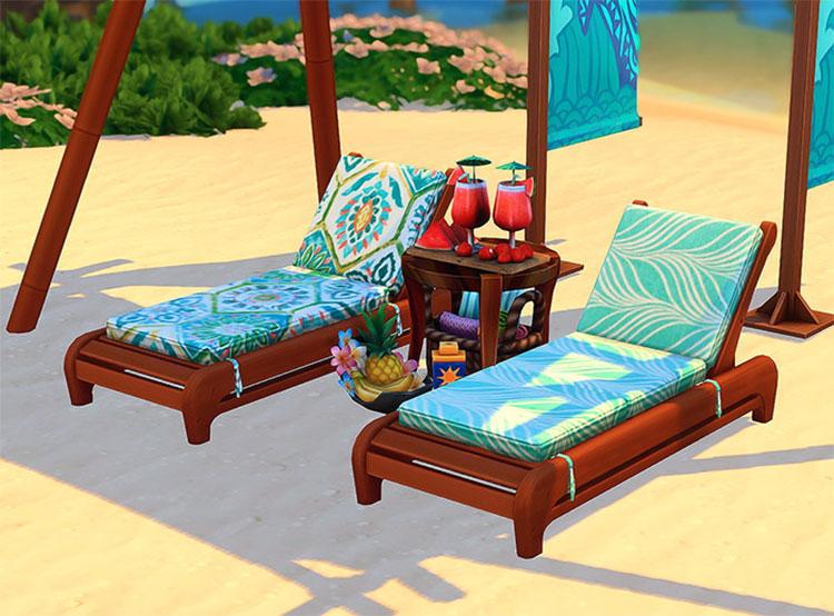 Teak Lounge Chair CC - TS4