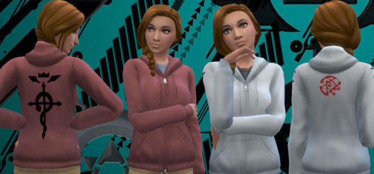 Sims Preview - Fullmetal Alchemist Sweatshirts