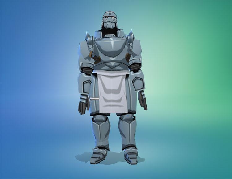 Glossy Al Elric Armor - TS4 CC