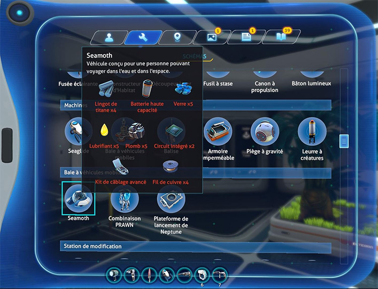 Realistic Recipes And Increased Difficulty in Subnautica